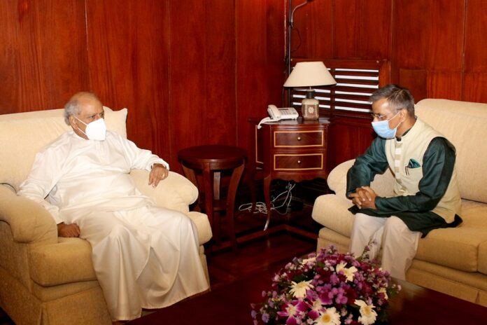 High Commissioner of India to Sri Lanka calls on Foreign Minister