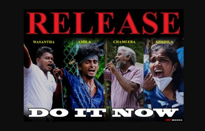 IUSF to launch wave of protests island-wide demanding release of student activists
