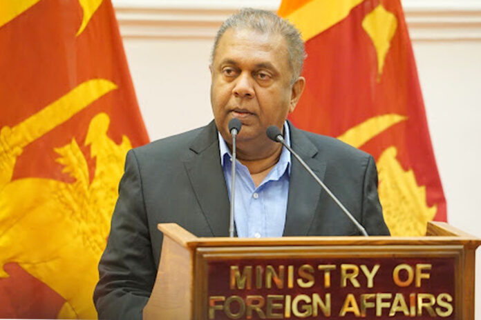 Foreign Ministry expresses condolences on the demise of former Foreign Minister Mangala Samaraweera
