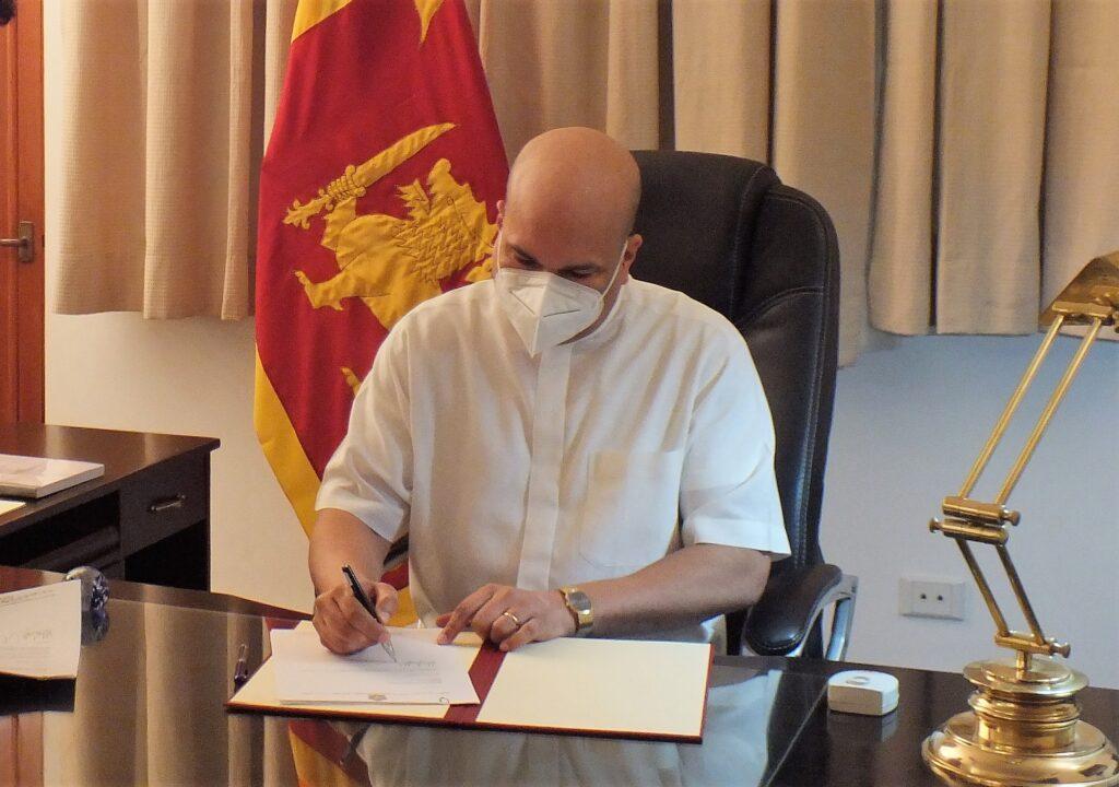 High Commissioner-designate of Sri Lanka to India Milinda Moragoda assumes duties in New Delhi