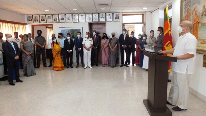 New High Commissioner-designate of Sri Lanka to India Milinda Moragoda assumed duties