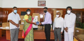 National Christian Alliance donates Rs. 4.6 million worth medical equipment for Covid control