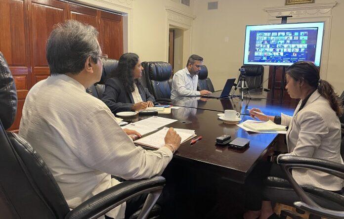 Ambassador of Sri Lanka to Washington Aryasinha inaugurates US based Overseas Sri Lankan Academic and Research Collaboration Network