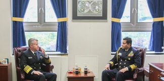 Commander of the Navy returns from USA after attending 24th International Seapower Symposium