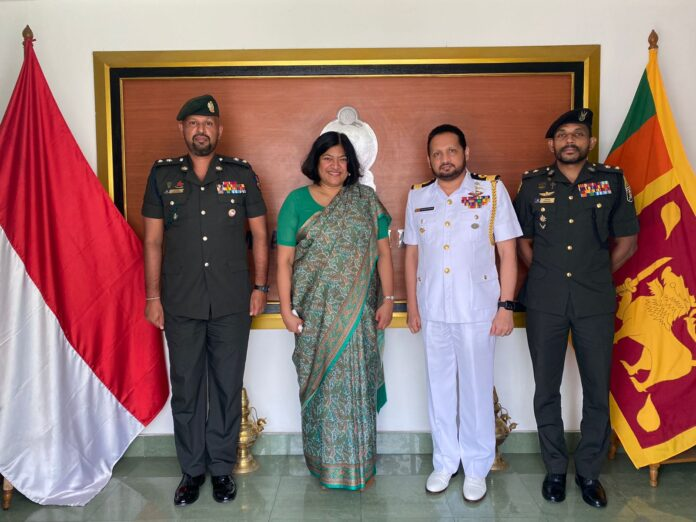 Sri Lankan military officers receives Masters Degree scholarships at Indonesia Defence University