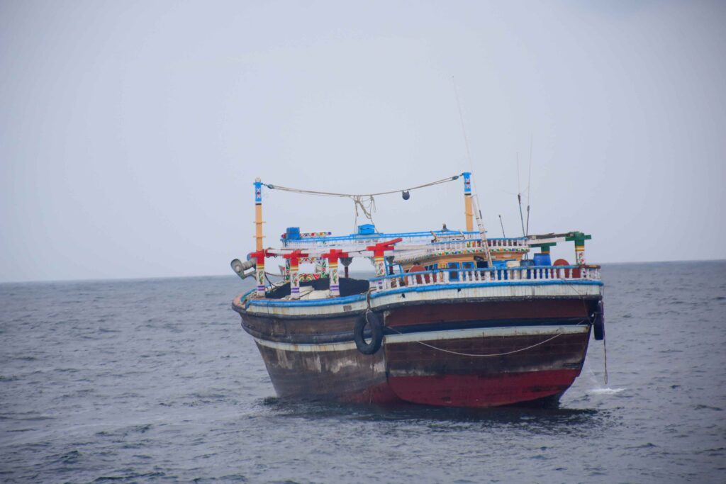 Navy intercepts another foreign fishing vessel carrying heroin worth over Rs. 1575 million street value