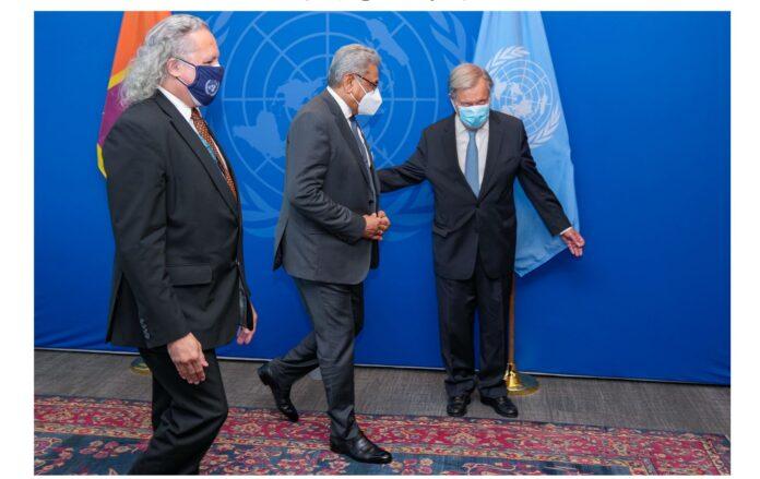 United Nations' fullest support to Sri Lanka -UN Secretary-General Antonio Guterres assures