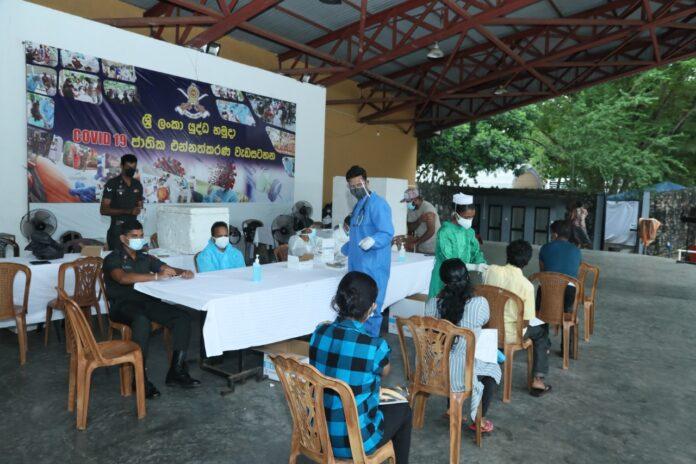 Over 9 million second doses of coronavirus vaccines administered in Sri Lanka