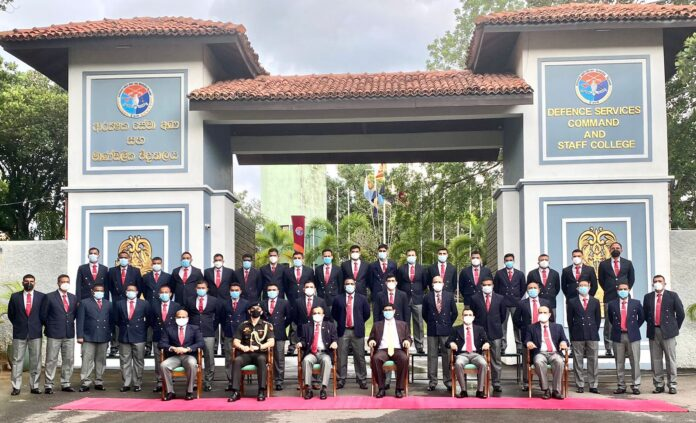 Defence Services Command and Staff College (DSCSC) delegation visit to India