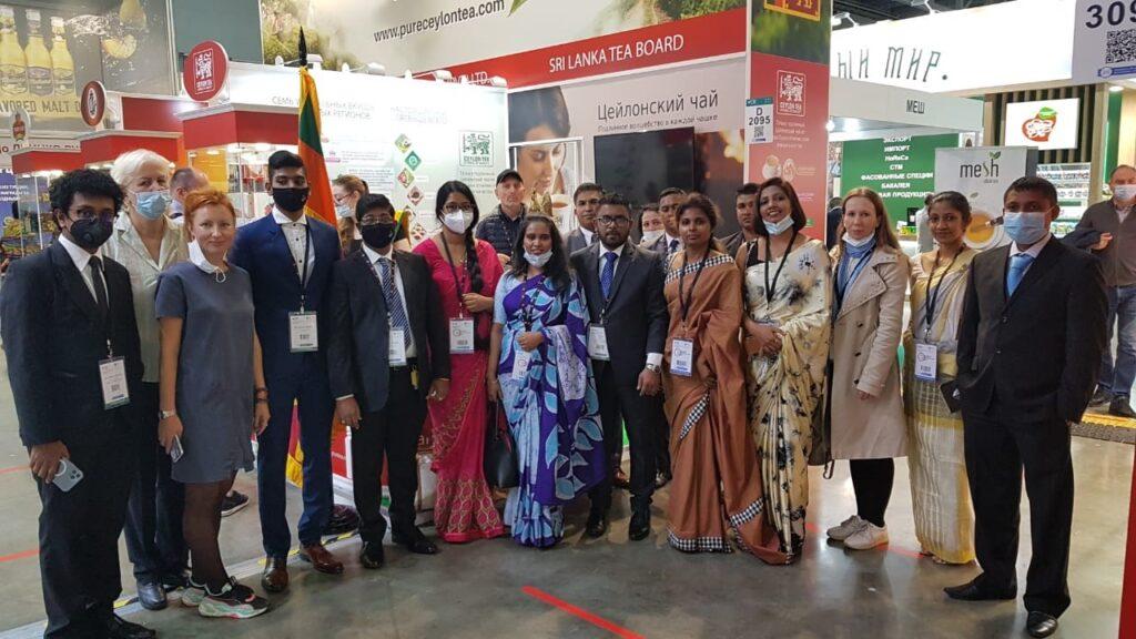 """Sri Lanka Tea Board Participates at the """"World Food Moscow 2021"""""""