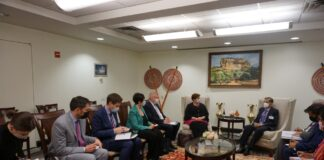 Foreign Minister meets Australian Foreign Minister on the eve of the 76th Session of UNGA