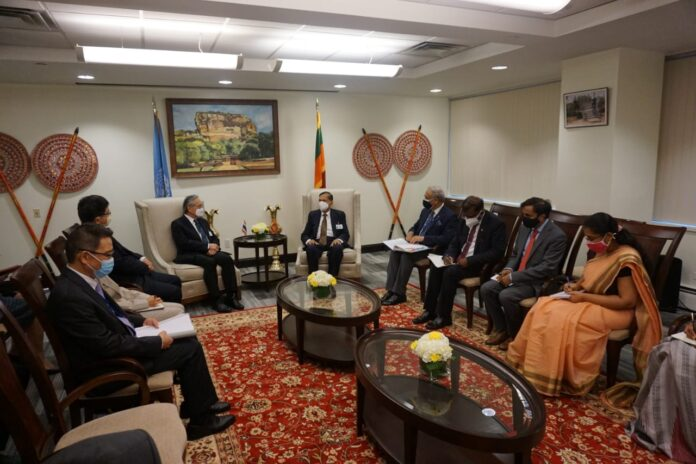 Foreign Minister G.L. Peiris in his discussion with Deputy Prime Minister and Foreign Minister of ThailandDon Pramudwinai indicated strong and historical bilateral ties as two countries practising Theravada Buddhism.