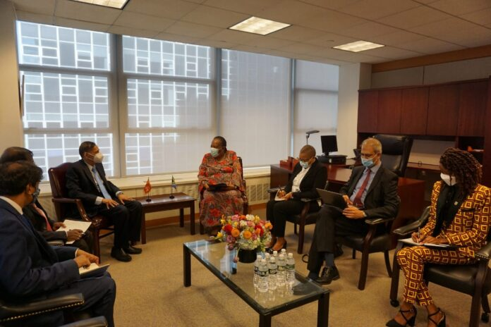 Foreign Ministers Prof. G.L. Peiris and South Africa discuss reconciliation rooted in local culture