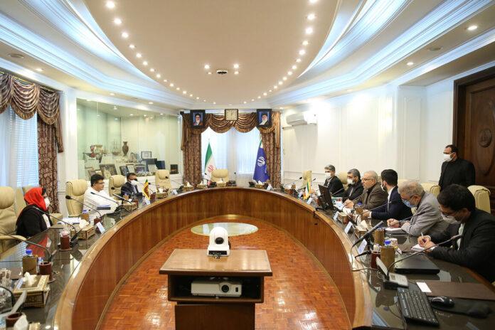 Minister of Energy Udaya Gammanpila visits the Islamic Republic of Iran
