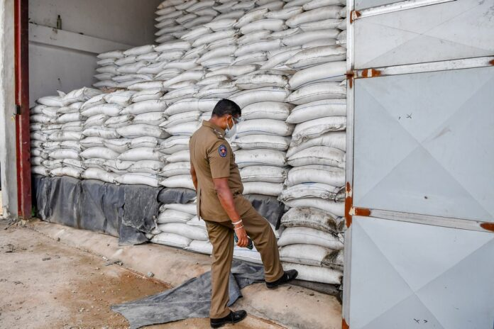 Rice / Sugar found in warehouses