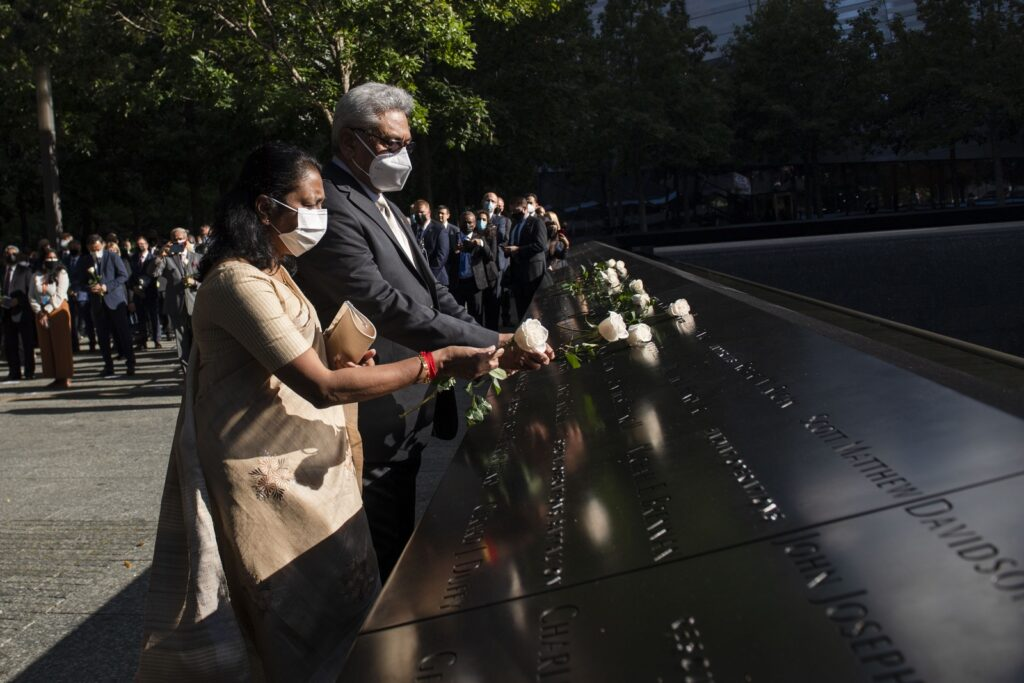 President joins special event organized to mark 20th anniversary of 9/11 terror attacks