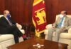 French Ambassador pays courtesy call on Foreign Minister G.L. Peiris