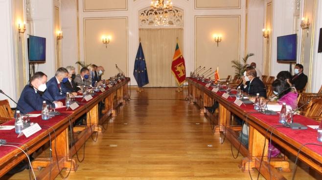 Minister Prof. G.L. Peiris updates on progress on matters of relevance in EU - Sri Lanka cooperation