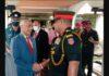 Chief of Army Staff of India General Manoj Mukund Naravane arrives to Sri Lanka