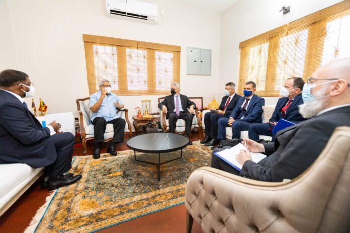 President Gotabaya Rajapaksa meets a delegation from the European Union (EU)