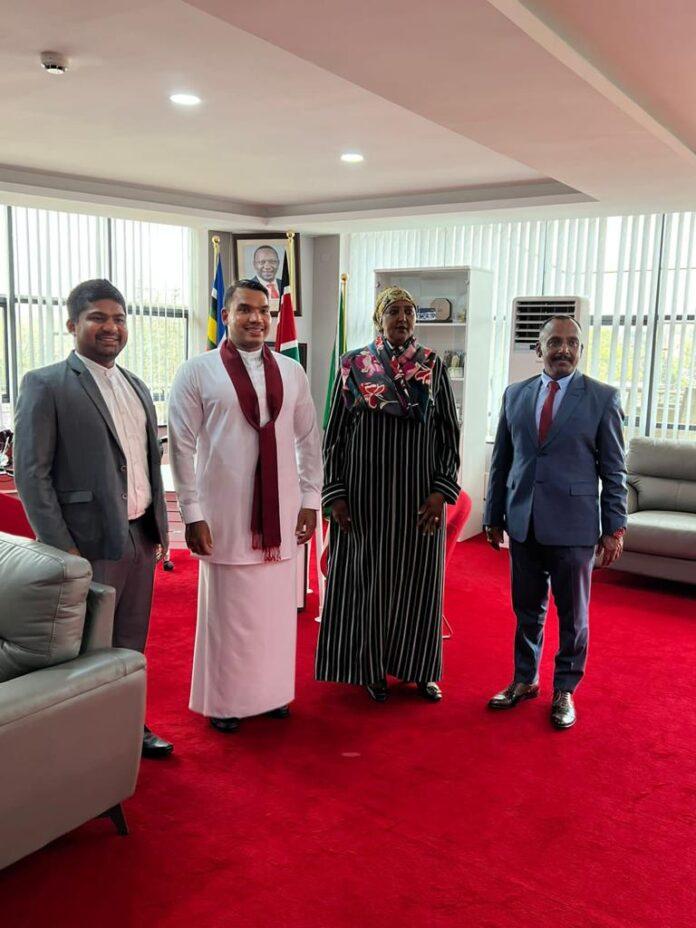 Minister Namal Rajapaksa induces new dynamism into Sri Lanka – Kenya bilateral relations