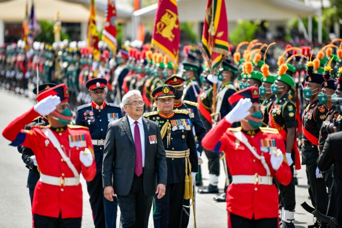 The speech delivered by His Excellency the President at the 72nd Army Day Celebration