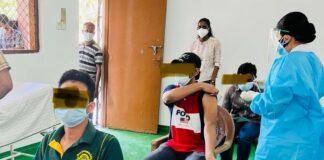 School Students Vaccination Sri Lanka