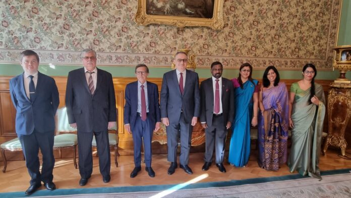 Sri Lanka and Russia Reaffirm Strong Partnership at Bilateral Political Consultations in Moscow