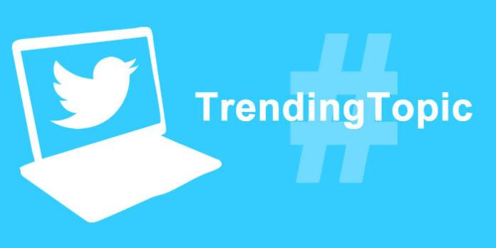twitter worldwide trends topic